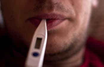 Having a fever can affect breathalyzer results