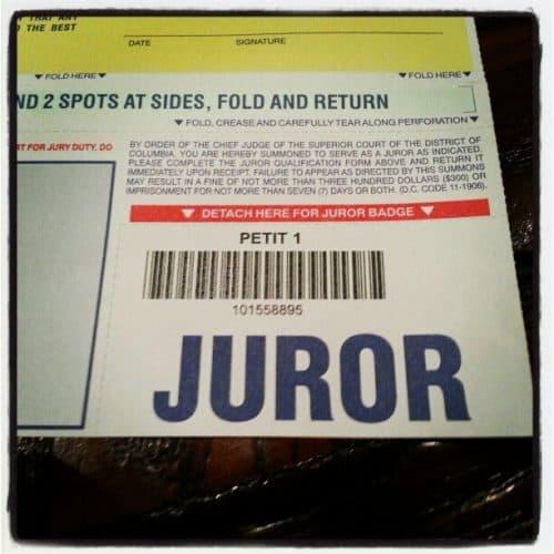 Skipping Jury Duty is a Crime -Vista Criminal Lawyer