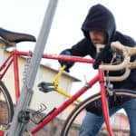 unlawfully taking of a bicycle