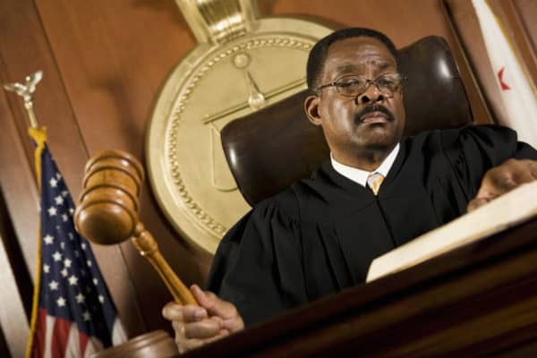 sentencing hearing in california