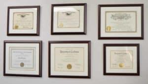 attorney legal credentials
